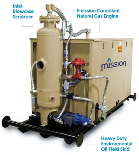 Vapor Recovery Units - Mission Flares